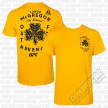 Reebok Conor McGregor Out For Revenge Tee Amarillo