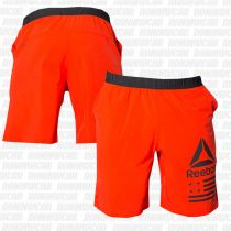 Reebok Speed Short Naranja-Negro