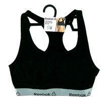 Reebok Sports Crop Top Frankie Negro