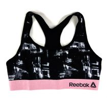 Reebok Sports Crop Top Marion Negro