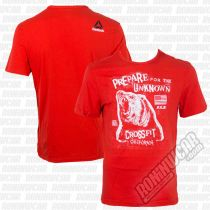 Reebok T-shirt Morning Breath Rojo