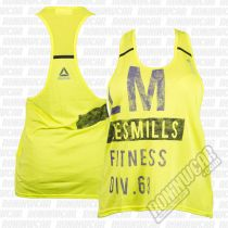 Reebok Tank LesMills Athletic Gelb