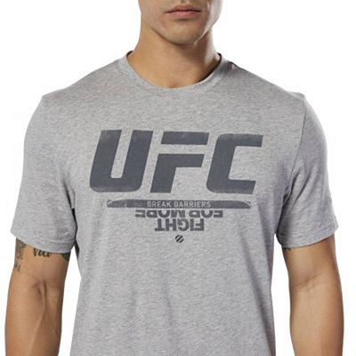Reebok UFC Fan Gear Logo Grey