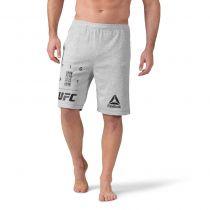 Reebok UFC Fan Gear Shorts Grau