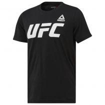Reebok UFC FG Logo Tee Schwarz
