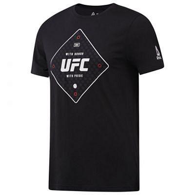 Reebok UFC FG Text Tee Preto