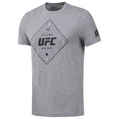 Reebok UFC FG Text Tee Grey