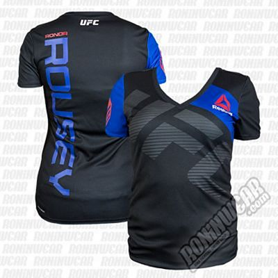 Reebok UFC Ronda Rousey Jersey Black