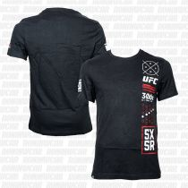 Reebok UFC Ultimate Fan 5X5R T-shirt Negro