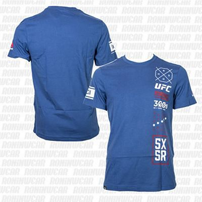 Reebok UFC Ultimate Fan 5X5R T-shirt Blue