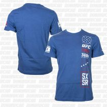 Reebok UFC Ultimate Fan 5X5R T-shirt Azul