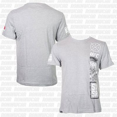Reebok UFC Ultimate Fan 5X5R T-shirt Grey