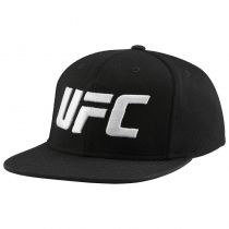 Reebok UFC Ultimate Fan Flat Brit Snapback Negro