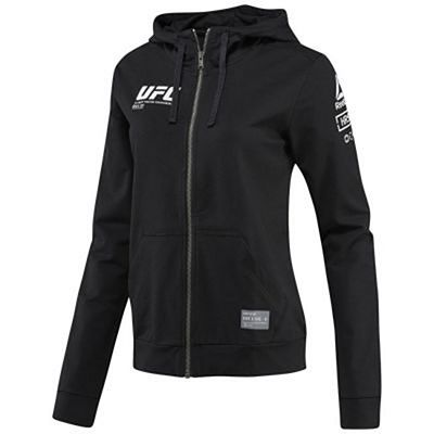 Reebok UFC Ultimate Fan Full Zip Women Schwarz