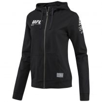 Reebok UFC Ultimate Fan Full Zip Women Preto