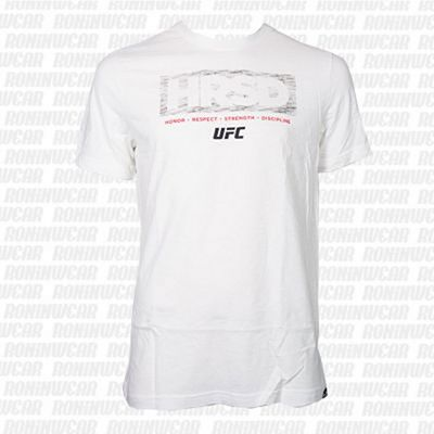 Reebok UFC Ultimate Fan HRSD Shirt White