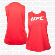 Reebok UFC Ultimate Fan Logo Sleeveless Tee Rot
