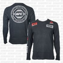 Reebok UFC Ultimate Fan LS T-shirt Negro