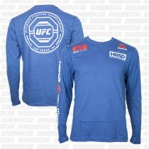 Reebok UFC Ultimate Fan LS T-shirt Azul
