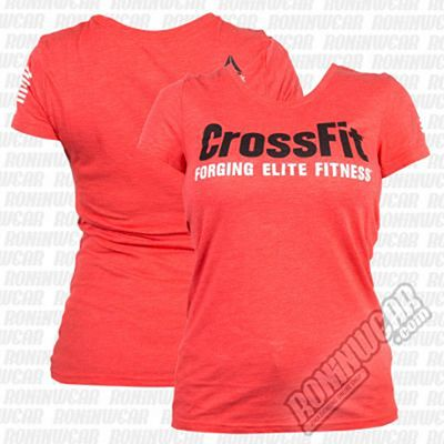 Reebok Womens Crossfit Forging Elite Fitness Rojo