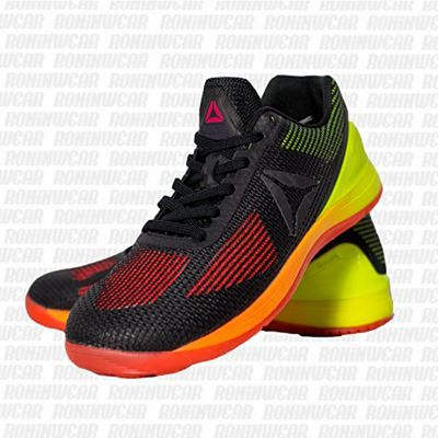 Reebok Womens CrossFit Nano 7 Black-Yellow