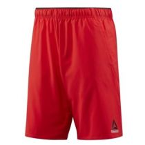 Reebok Workout Ready Woven Graphic Short Rojo