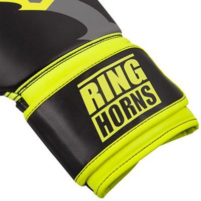 Ringhorns Charger Boxing Gloves Black-Yellow