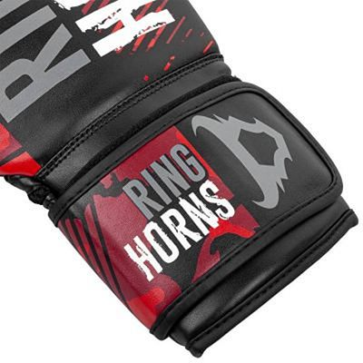 Ringhorns Charger Camo Boxing Gloves Black-Red