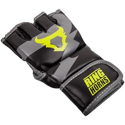 Ringhorns Charger MMA Gloves Black-Yellow