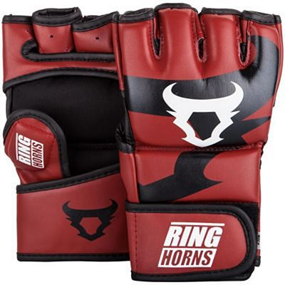 Ringhorns Charger MMA Gloves Rot