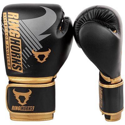 Ringhorns Charger MX Boxing Gloves Noir-Or