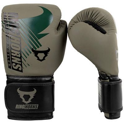 Ringhorns Charger MX Boxing Gloves Green-Black