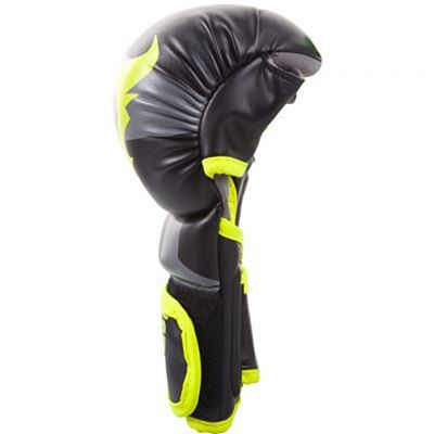 Ringhorns Charger Sparring Gloves Nero-Giallo
