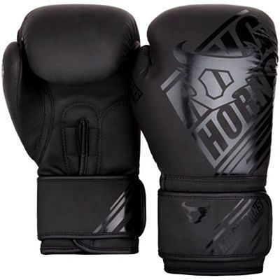 Ringhorns Nitro Boxing Gloves Nero-Nero