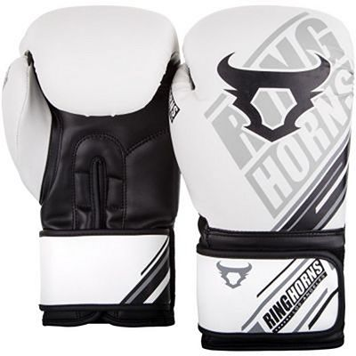 Ringhorns Nitro Boxing Gloves Vit