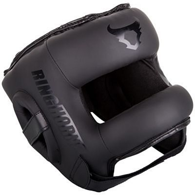Ringhorns Nitro Headgear Black-Black