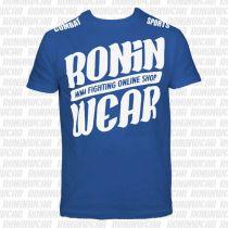RoninWear Big Logo S-17 Blu