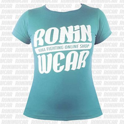 RoninWear Big Logo S-17 Girls Turkoosi