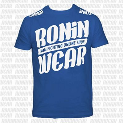 RoninWear Big Logo S-17 Kids Blue