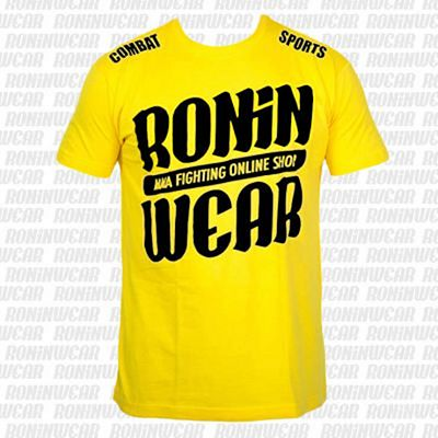 RoninWear Big Logo S-17 Kids Yellow-Black