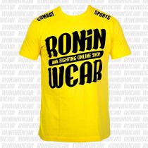 RoninWear Big Logo S-17 Kids Giallo-Nero