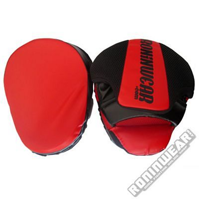 RoninWear Focus Mitts  Red-Black