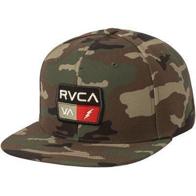 RVCA 9Volt Snapback Grün-Camo