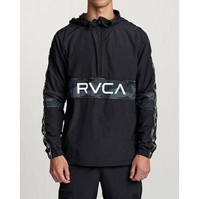 RVCA Adapter Anorak Jacket Schwarz