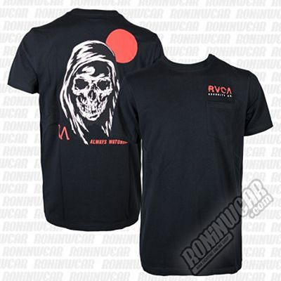 RVCA Afterlife Tee Nero