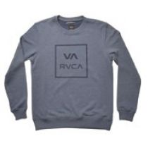 RVCA VA All The Way Crew Midnight Heather