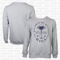 RVCA Anchor Palm Crew Athletic Heather