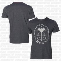 RVCA Anchor Palm T-shirt SS Gris