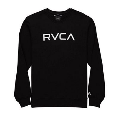 RVCA Big RVCA Crew Sweatshirt Black