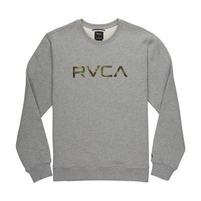 RVCA Big RVCA Crew Sweatshirt Grey-Camo